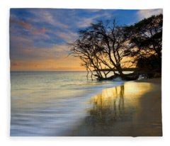 Reflections Of Paradise Fleece Blanket
