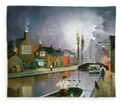 Reflections Of The Black Country Fleece Blanket