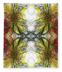 Reflections Of The Inner Light #1513 Fleece Blanket