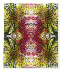 Reflections Of The Inner Light #1515 Fleece Blanket