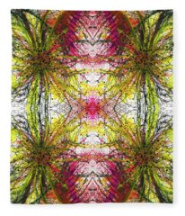 Reflections Of The Inner Light #1516 Fleece Blanket