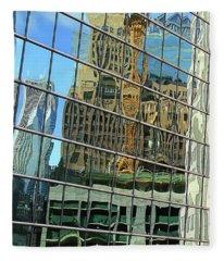 Reflective Chicago Fleece Blanket