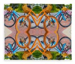 Reflective Rides Fleece Blanket