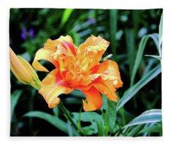 Regal Lily Fleece Blanket