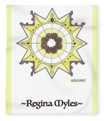 Regina Soul Portrait Fleece Blanket