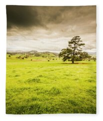 Regional Rural Land Fleece Blanket