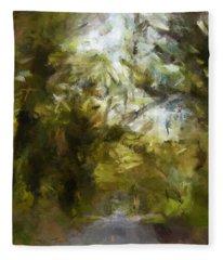 Regnskog Fleece Blanket