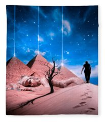 Rejuvenation  Fleece Blanket