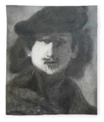 Rembrandt Fleece Blanket