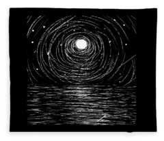 Remembering Stephen Hawking Fleece Blanket
