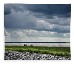 Rend Lake Fleece Blanket