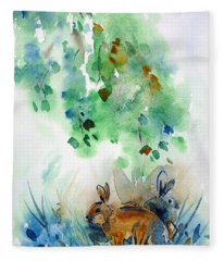 Rendezvous Fleece Blanket