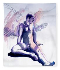 Resting Angel Fleece Blanket