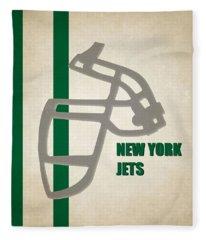 Retro Jets Art Fleece Blanket