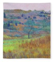Return Of Green Dream Fleece Blanket