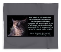 Revere Cat Fleece Blanket