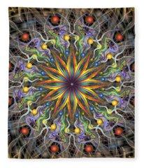 Reverse Cosmosis Fleece Blanket