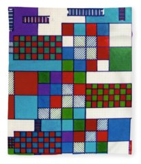 Rfb0572 Fleece Blanket