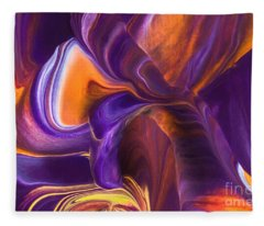 Rhythm Of My Heart Fleece Blanket