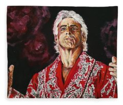 Ric Flair Fleece Blanket
