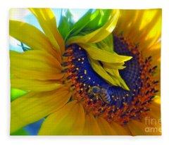 Rich In Pollen Fleece Blanket