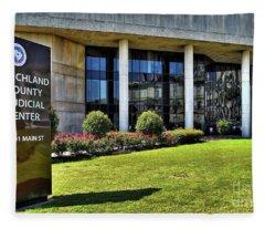Richland County, Sc Fleece Blanket