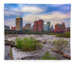 Richmond Skyline Fleece Blanket