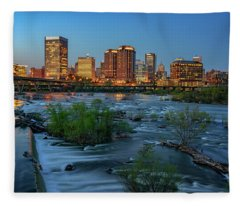 Richmond Twilight Fleece Blanket