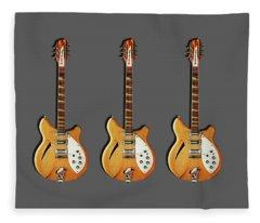 Rock Music Fleece Blankets