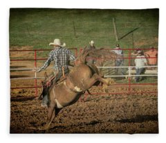 Ride Em Cowboy Fleece Blanket