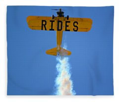 Rides Fleece Blanket