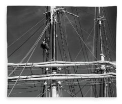 Rigging Aloft Fleece Blanket
