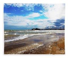 Rimini After The Storm Fleece Blanket