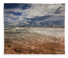 Rimini Storm Fleece Blanket