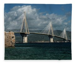 Rio-andirio Hanging Bridge Fleece Blanket