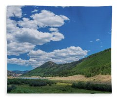 Rio Grande Headwaters #3 Fleece Blanket
