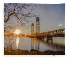 Rio Vista Morning Fleece Blanket