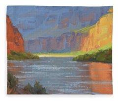 Canyon Fleece Blankets
