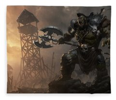 Rise Of The Overlords Fleece Blanket