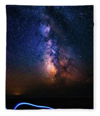 Rising From The Clouds Fleece Blanket