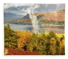 Rising Mist Fleece Blanket