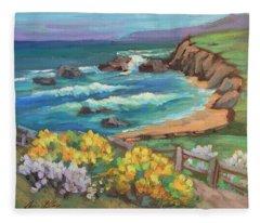 Ritz Carlton At Half Moon Bay Fleece Blanket