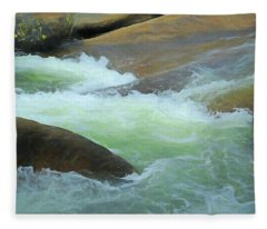 River Frolic 5 Fleece Blanket