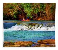 River Good Times 121217-1 Fleece Blanket