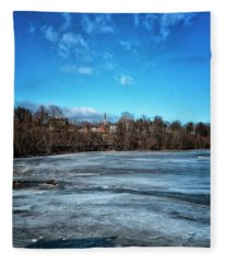 River Ice Fleece Blanket