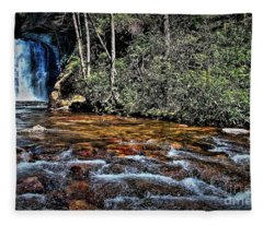 River Memories Fleece Blanket