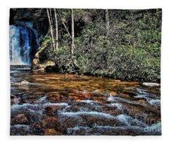 River Memories Fleece Blanket