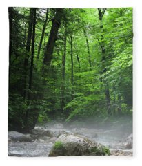 River Mist Fleece Blanket