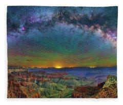 River Of Stars Fleece Blanket
