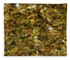 River Pebbles Fleece Blanket
